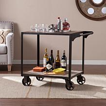 Southern Enterprises Topher  Bar Cart