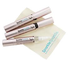 Sparkle Sparkle® Jewelry Cleaner Stylus 3-pack and Polishing Cloth