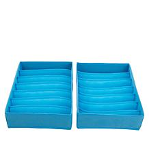 StoreSmith 7-Slot Drawer Organizers - 2-pack