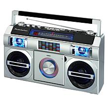 Studebaker 80's Retro Street Bluetooth Boombox w/FM Radio & CD Player