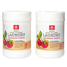 Sunny Valley Orchard 160-count Natural Laundry Detergent Sheets