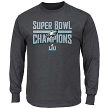 Super Bowl LII Champions Men's Sudden Impact Long-Sleeve Tee