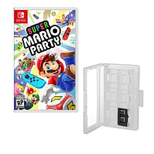 """Super Mario Party"" Game for Nintendo Switch with Game Caddy"
