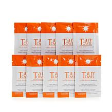 TanTowel® Half-Body Classic Towelettes - 10-pack