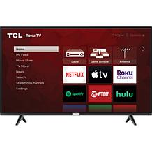 TCL S435 4K LED Roku TV Bundle with 6' HDMI Cable and Voucher