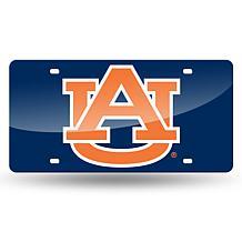 Team Colored Laser Tag License Plate-Auburn University