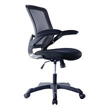 Techni Mobili Mesh Task Office Chair with Flip-Up Arms