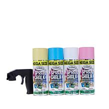 Testor's Spray Chalk 4 Color Kit