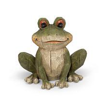 "The Gerson Company 12.8""L Magnesium Garden Frog Figurine"