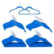 The JOY Hangers 60-piece Premiere Anti-Microbial CleanBoss Set