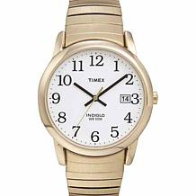 Timex Men's Goldtone Stainless Steel EZ-Reader Expansion Band Watch