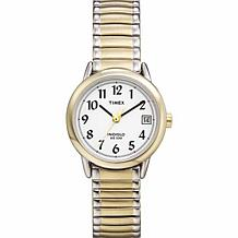 Timex Women's 2-Tone Easy Reader Expansion Band Watch
