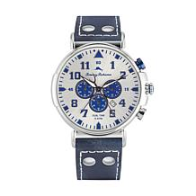Tommy Bahama Men's Bay View Dual Time Chronograph Watch - Blue
