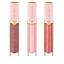 Too Faced 3-piece Rich & Dazzling High-Shine Sparkling Lip Gloss Set