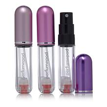 Travalo Refillable Fragrance Atomizer 3-pack