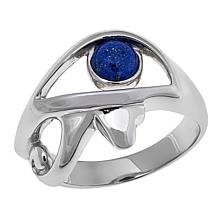 "Traveler's Journey Lapis ""Egyptian Eye"" Ring"
