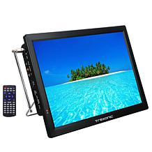 Trexonic Portable Rechargeable 14 Inch LED TV with HDMI, SD/MMC, US...