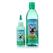 Tropiclean Fresh Breath Dental Kit for Pets