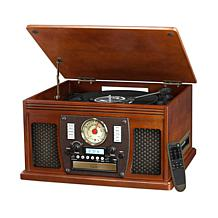 Victrola Nostalgic 8-in-1 Bluetooth Turntable w/CD & Cassette Player