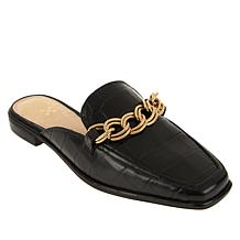 Vince Camuto Rachey Leather Mule with Chain Detail