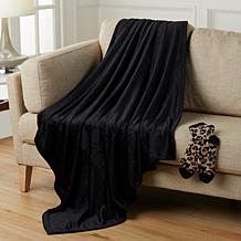Warm & Cozy Throw & Sock Gift Set