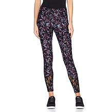 Warrior by Danica Patrick Lace or Velvet Detail Legging