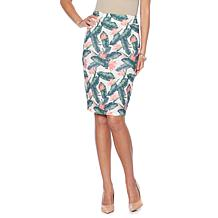 Wendy Williams Stretch Scuba Knit Pencil Skirt