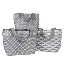 West Loop Set of 3 Insulated Totes