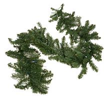 Winter Lane 6' Indoor/Outdoor Garland with 35 LED Lights and Remote