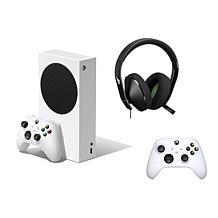 Xbox Series S 512GB Bundle w/Headset, Wireless Controller & 2 Vouchers