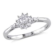 0.25ctw White Diamond Engagement Ring