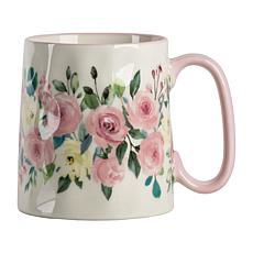 10 Strawberry Street Bella Pink Floral Wrap Mug 4-Pack