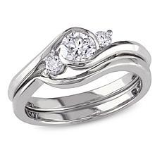 10K Diamond Bridal Ring Set