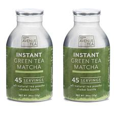 10th Avenue Tea 2pk Instant Tea Shaker Bottles - Green Tea