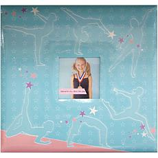 "12"" x 12"" Sport and Hobby Postbound Album - Gymnastics"