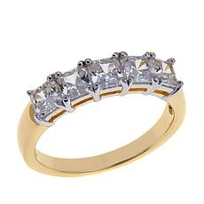 1.25ctw Absolute™ Princess-Cut 5-Stone Ring