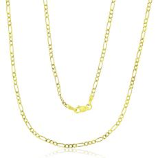 """14K Gold 1.5mm Figaro Chain Necklace - 16"""""""