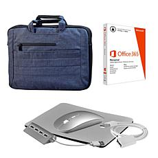 "15"" 2-in-1 Business Carrier w/Microsoft Office Personal & Accessories"