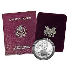 1990 Proof Silver Eagle Dollar