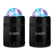 2-pack Ion Audio Party Starter Portable Speakers
