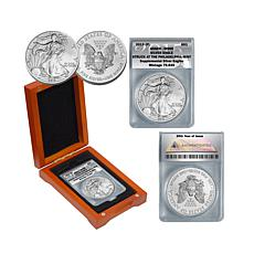 2015 MS69 Philadelphia Mint Silver Eagle Dollar Coin