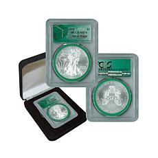 2015 MS70 PCGS Silver Eagle - Monster Box Green Label