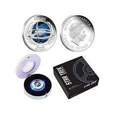2015 Star Trek LE 5,000 Space Station Silver Proof Coin