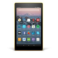 "2017 Fire HD 8"" IPS Quad-Core 16GB Alexa-Enabled w/Curious.com/Pandora"