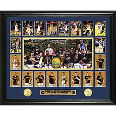 "2017 NBA Champions ""Memorable Moment"" Coin Photo Mint"