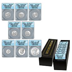 2017 PR70 ANACS Limited Edition of 2017 Silver Proof 8-Coin Set