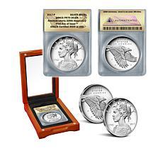 2017 PR70 FDOI LE 499 American Liberty Silver Medal