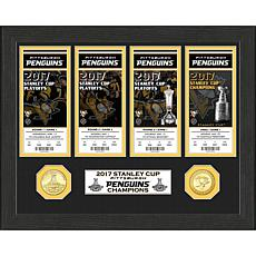 2017 Stanley Cup Champions Ticket Collection