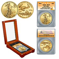 2018 MS70 FDOI Limited Edition $50 Gold Eagle Coin
