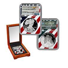 2018 PR70 NGC Ultra Cameo Silver Eagle Dollar Coin